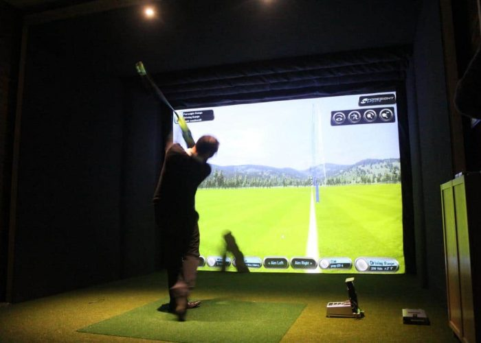 Golf simulator installed at Woburn Golf Club