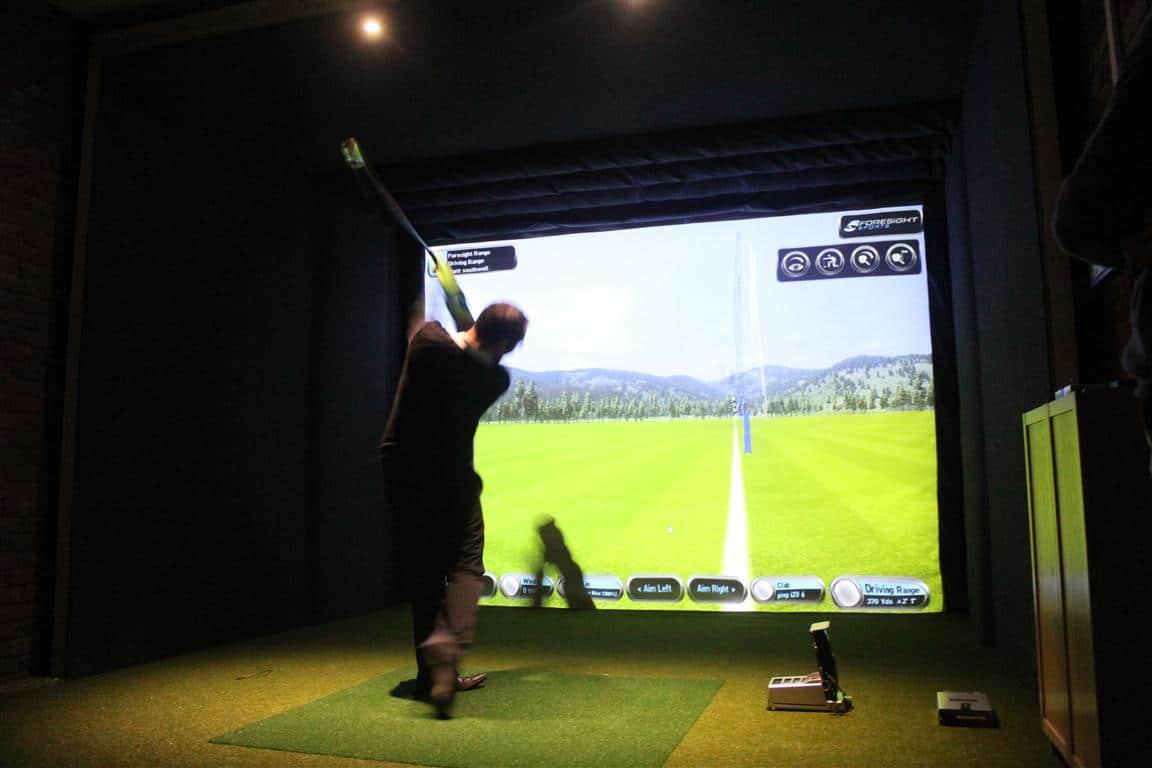 Golf simulator installed at Woburn Golf Club