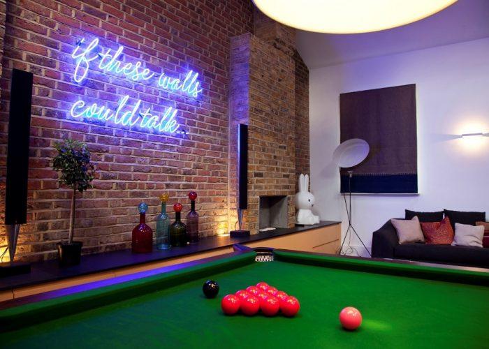 AV system install and lighting design Notting Hill