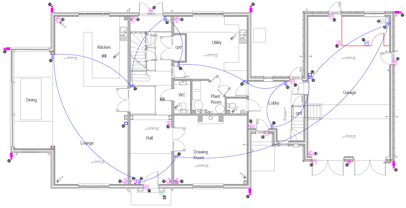 AutoCAD schematics
